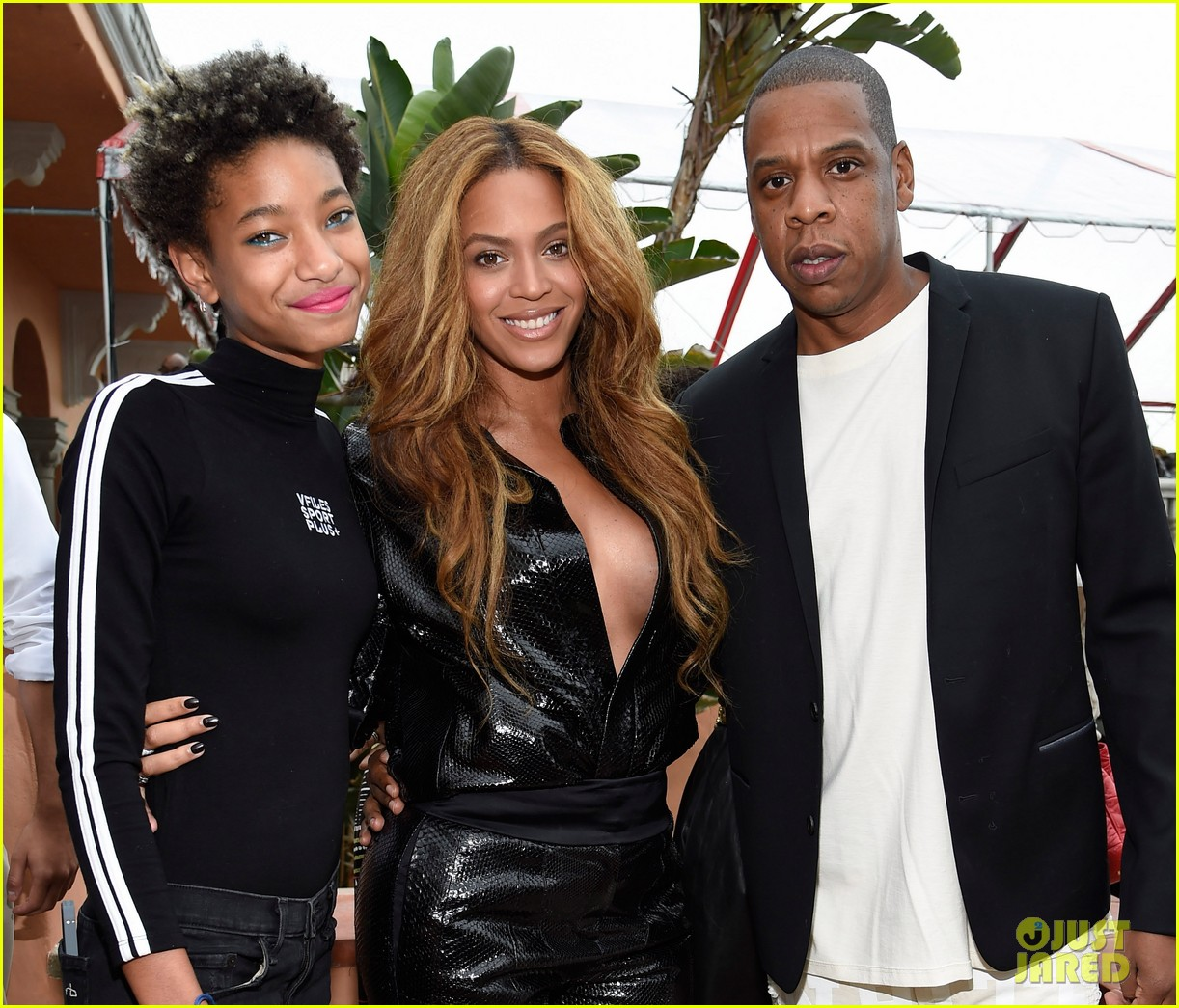 Beyonce Stuns In A Low Cut Top At Puma S Pre Grammy Brunch