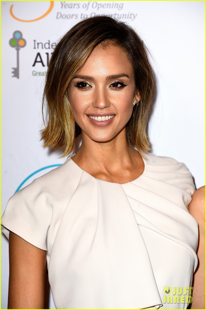 jessica alba john legend stacey keibler step out for good cause at impact 113328494