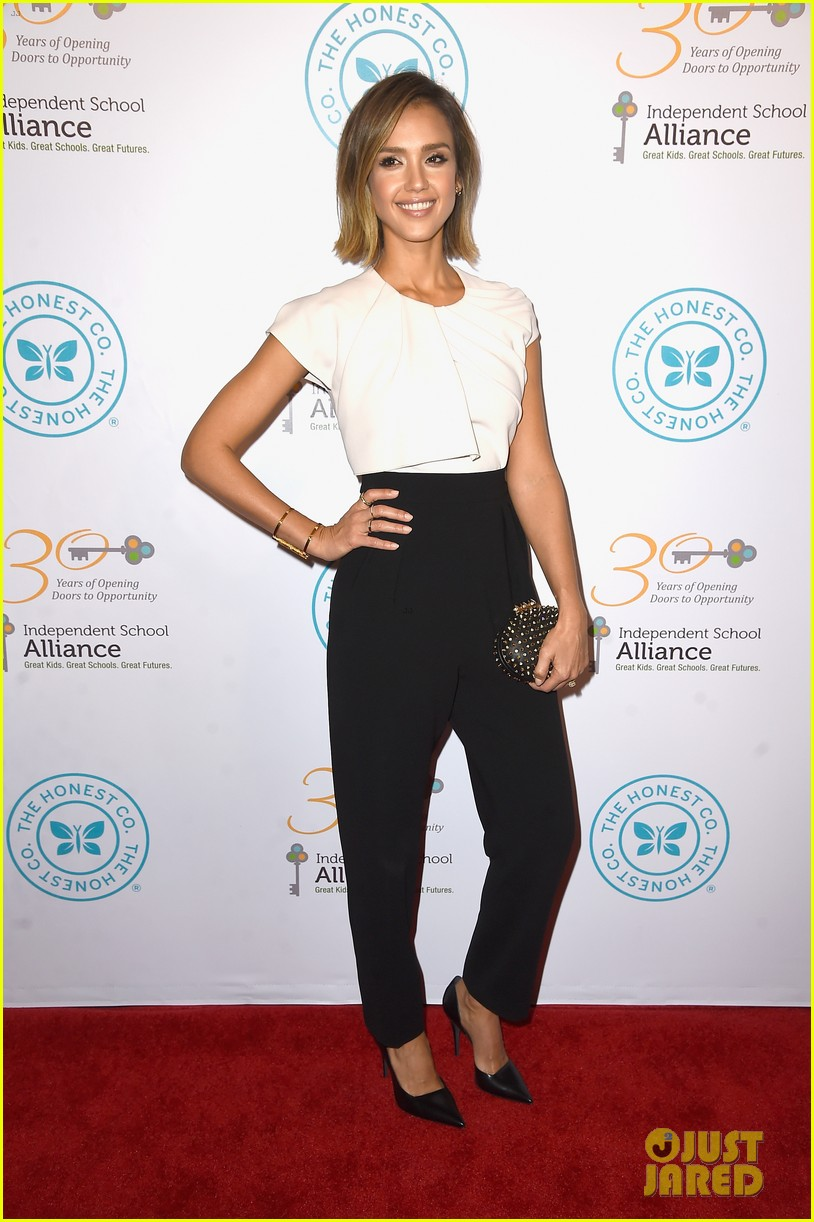 jessica alba john legend stacey keibler step out for good cause at impact 123328495