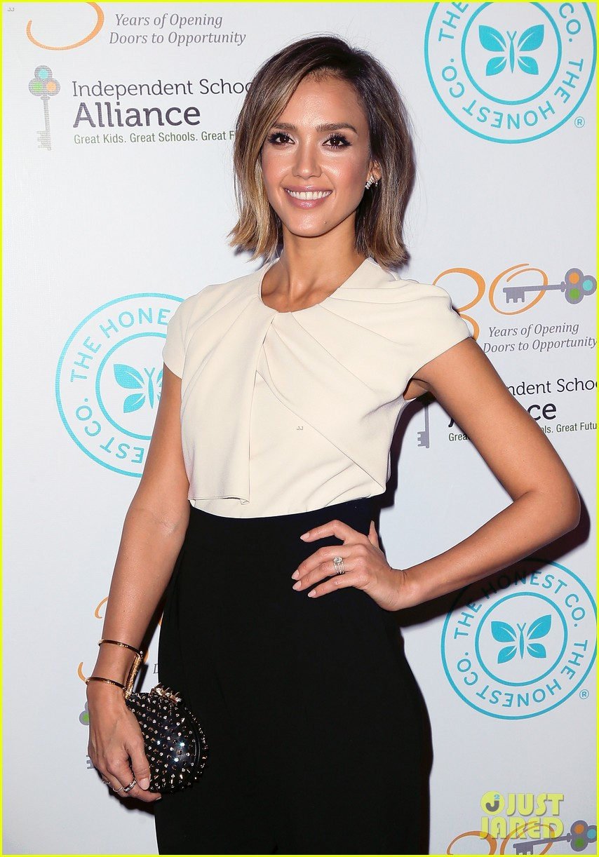 jessica alba john legend stacey keibler step out for good cause at impact 233328506