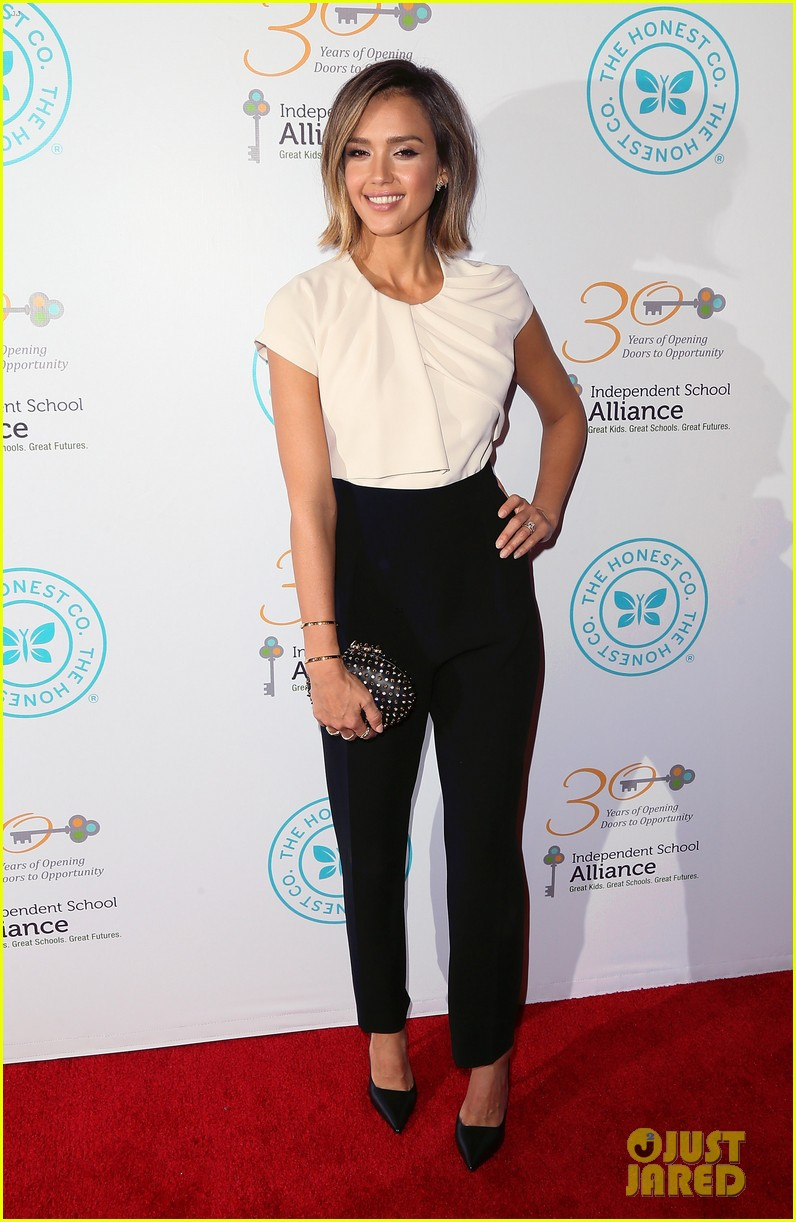 jessica alba john legend stacey keibler step out for good cause at impact 243328507