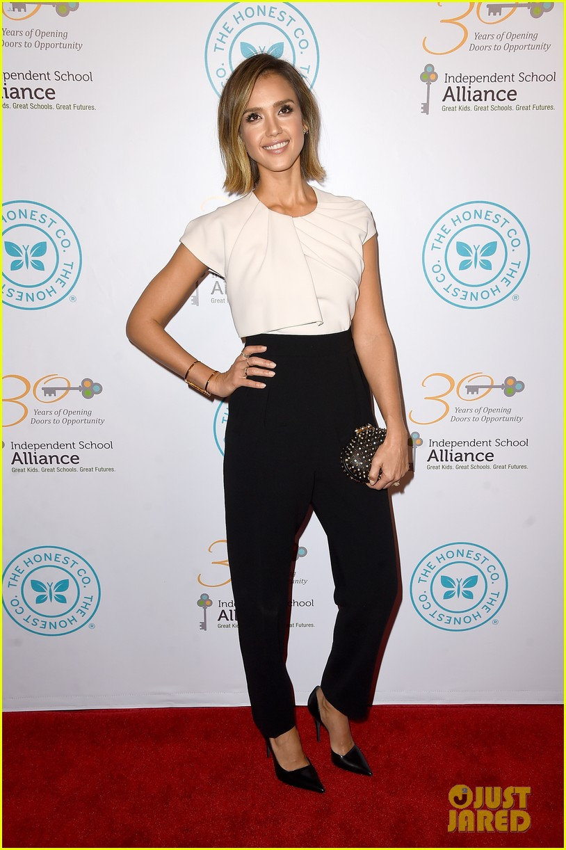 jessica alba john legend stacey keibler step out for good cause at impact 253328508