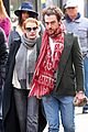 jessica chastain holds hands with boyfriend in nyc 01