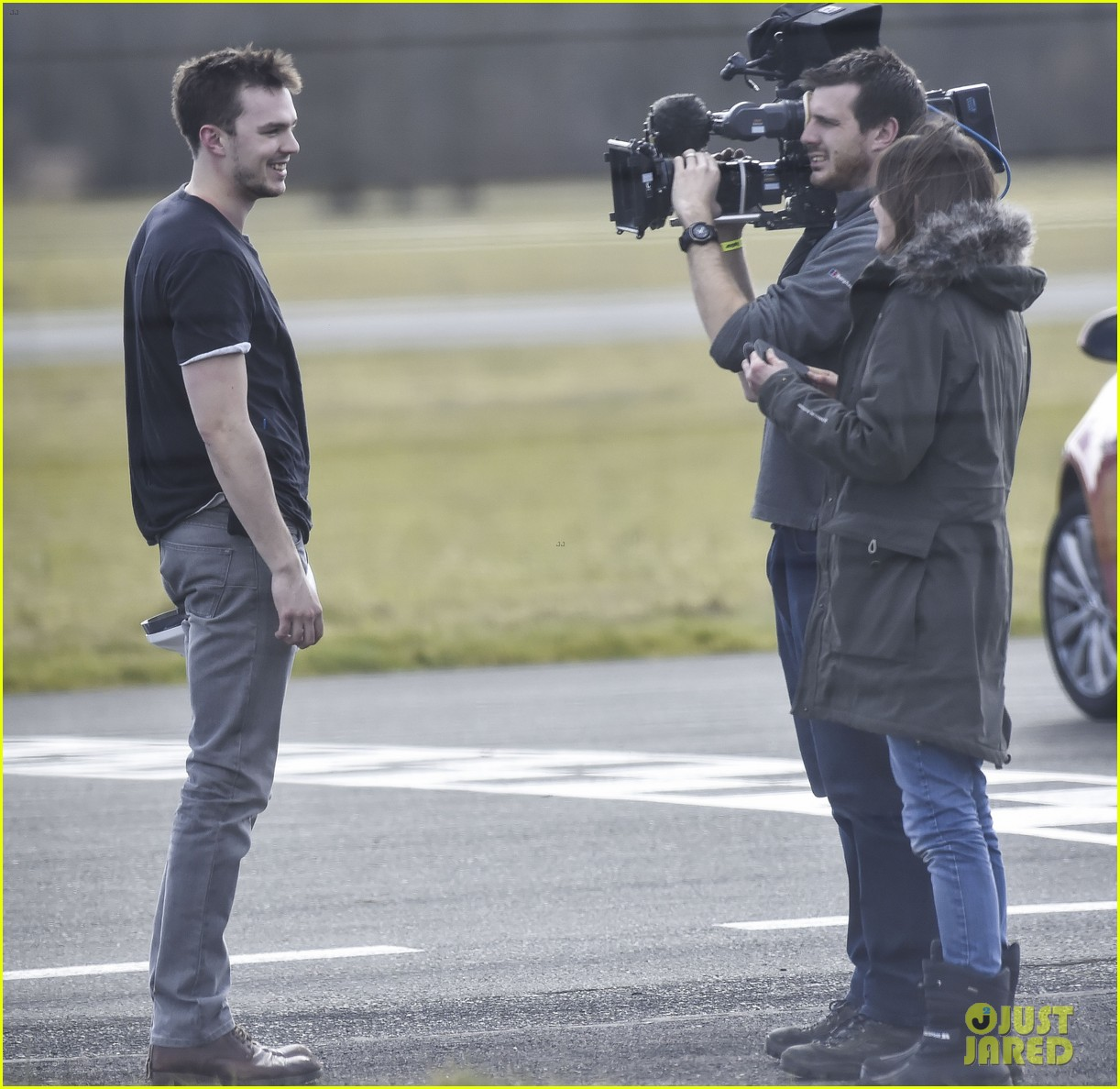 nicholas hoult need for speed on top gear 053319007