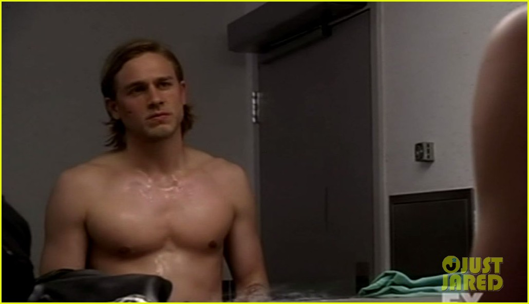 Charlie Hunnam is comfortable going full frontal nude