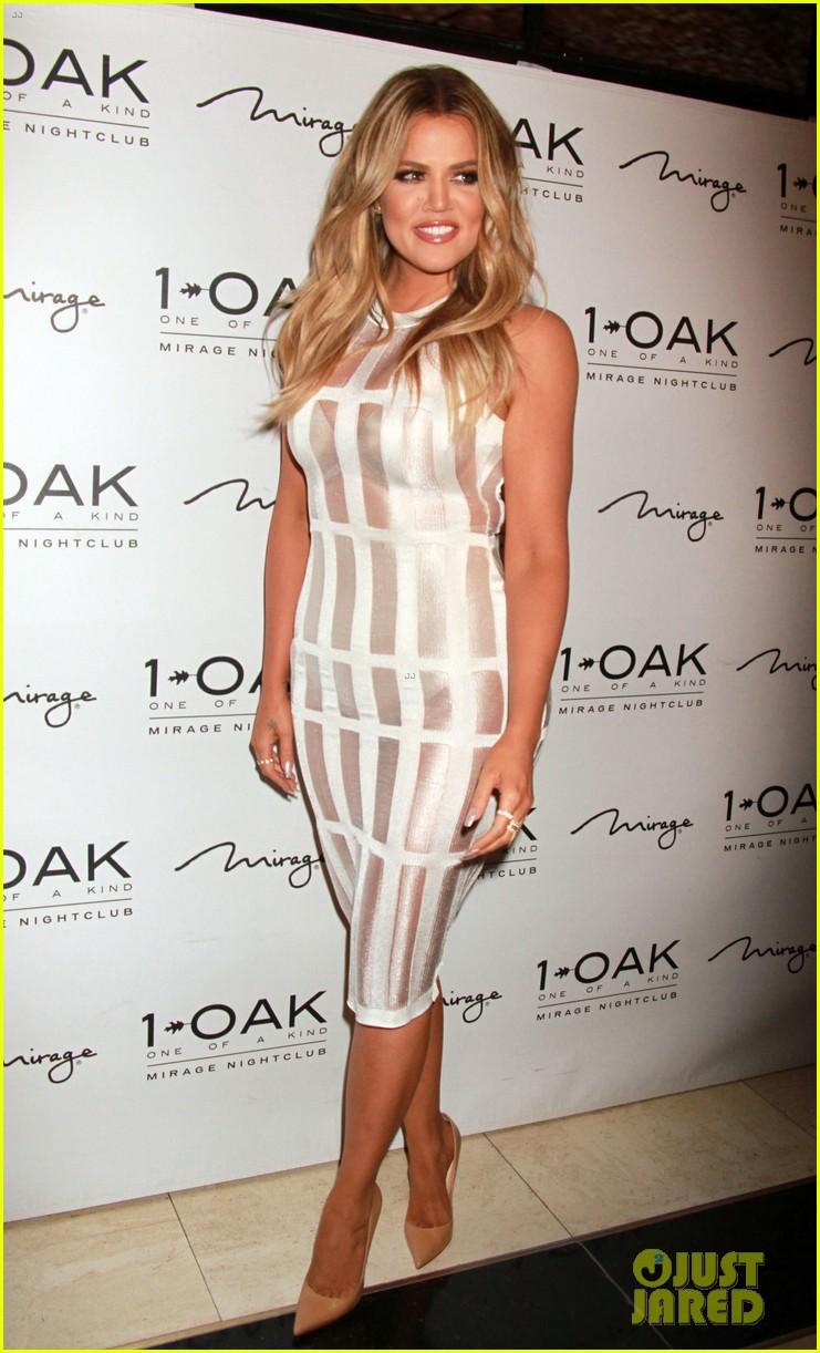 Khloe Kardashian\'s Sexy Sheer Dress Is Perfect For Las Vegas ...