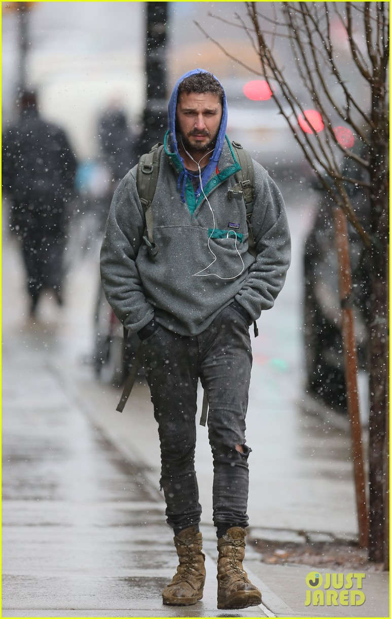 shia labeouf livestreamed heart for latest art project 163330893