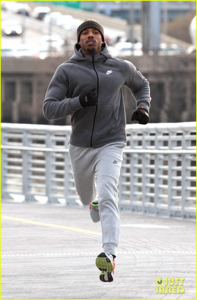 a1ef1f801e5 Michael B. Jordan s Fake Bruised Face Looks Real On  Creed  Set ...