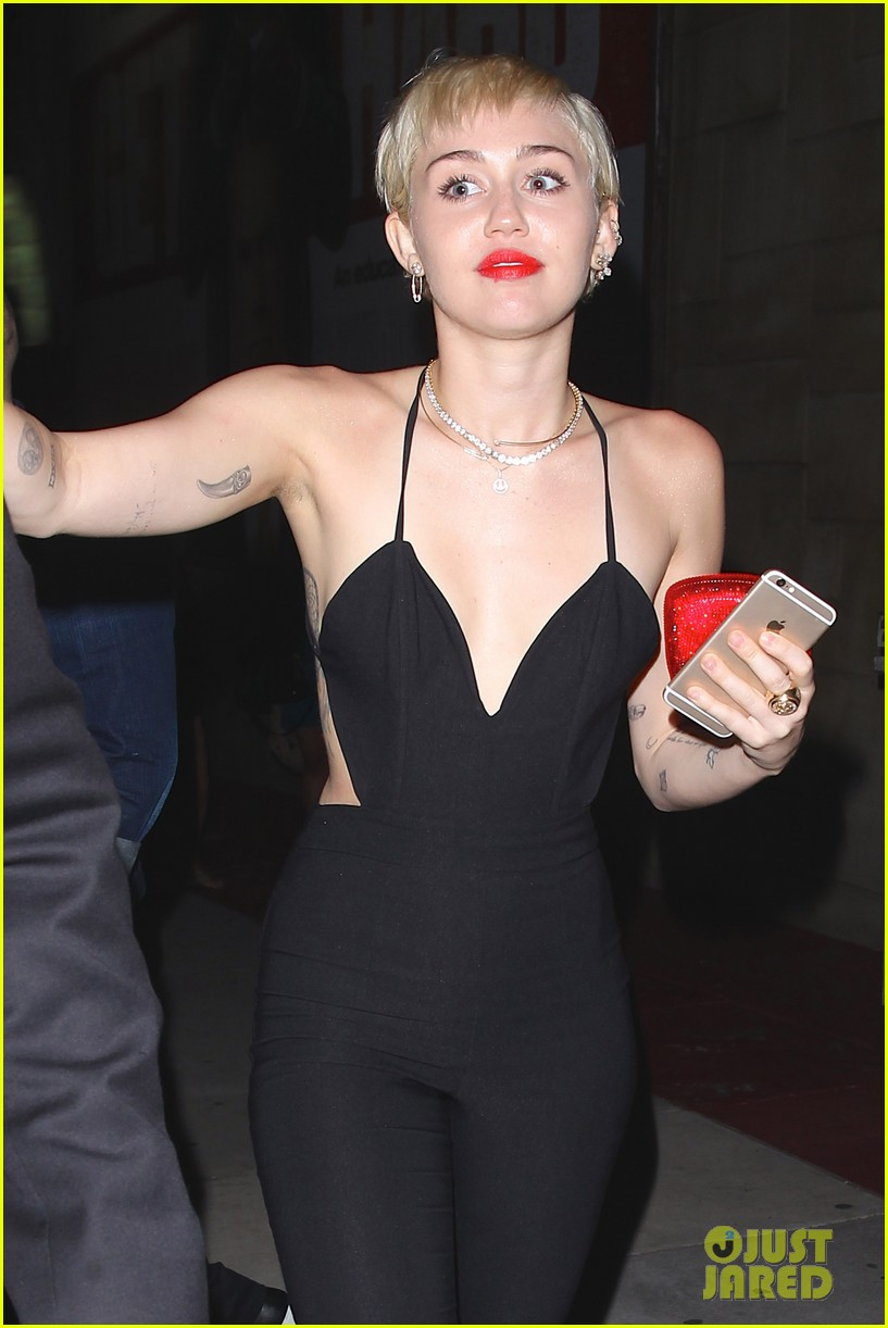 miley cyrus steps out after patrick schwarzenegger photos emerge 073327645