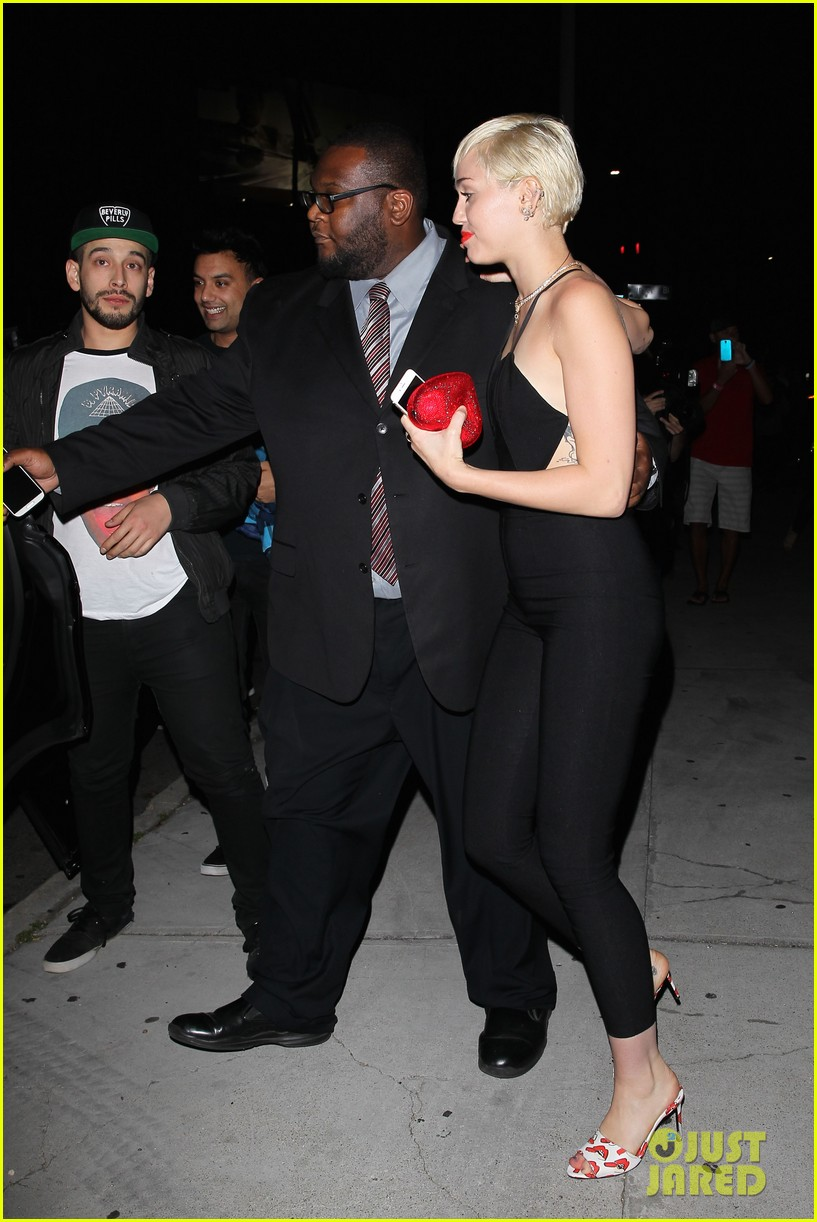 miley cyrus steps out after patrick schwarzenegger photos emerge 103327648