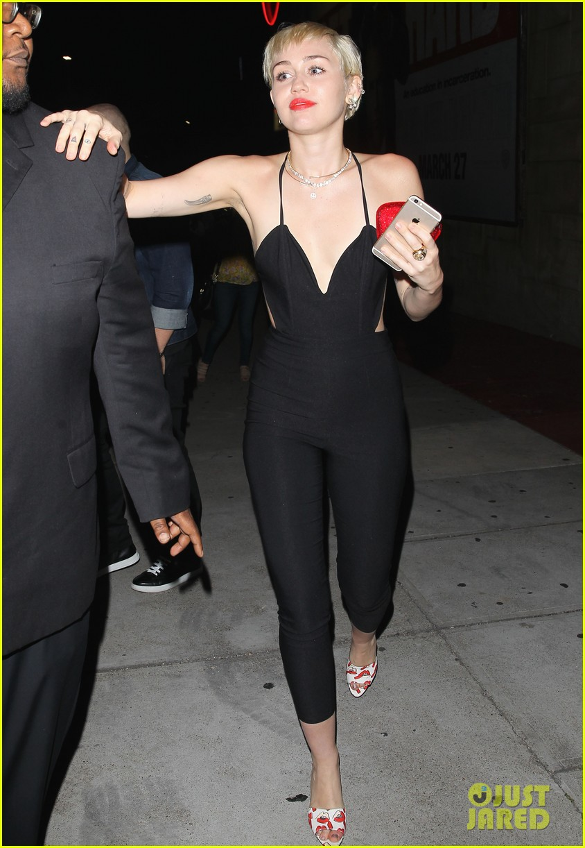 miley cyrus steps out after patrick schwarzenegger photos emerge 133327651