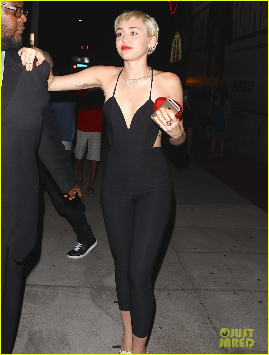 miley cyrus steps out after patrick schwarzenegger photos emerge 143327652