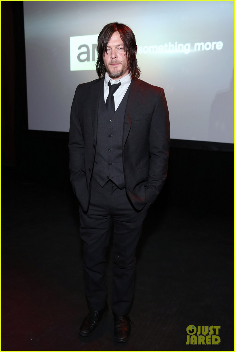 norman reedus celebrates walking dead at amc ad sales event 023332513