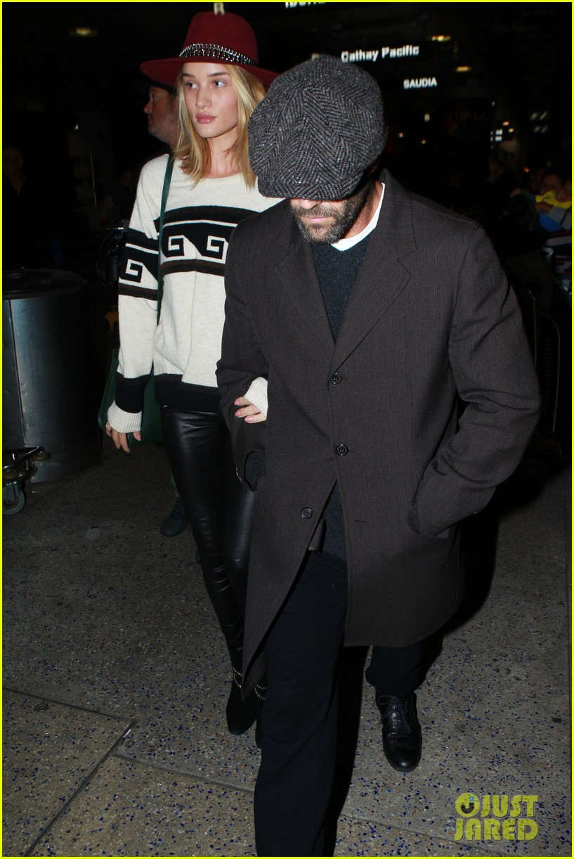 74d63b1d Rosie Huntington-Whiteley & Jason Statham Land Back in L.A. Together ...