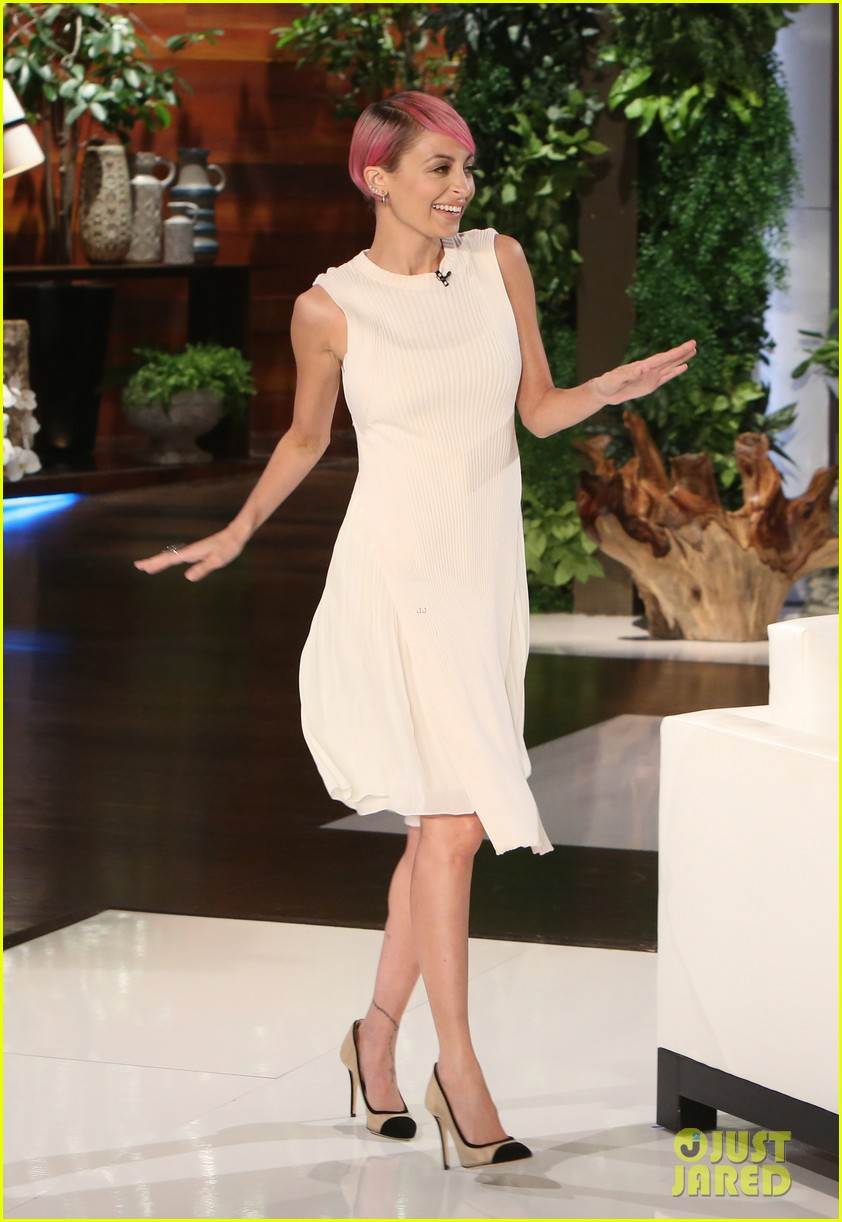 Nicole Richie's dress
