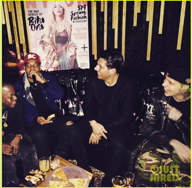 rita ora nylon magazine party zac efron 033316444