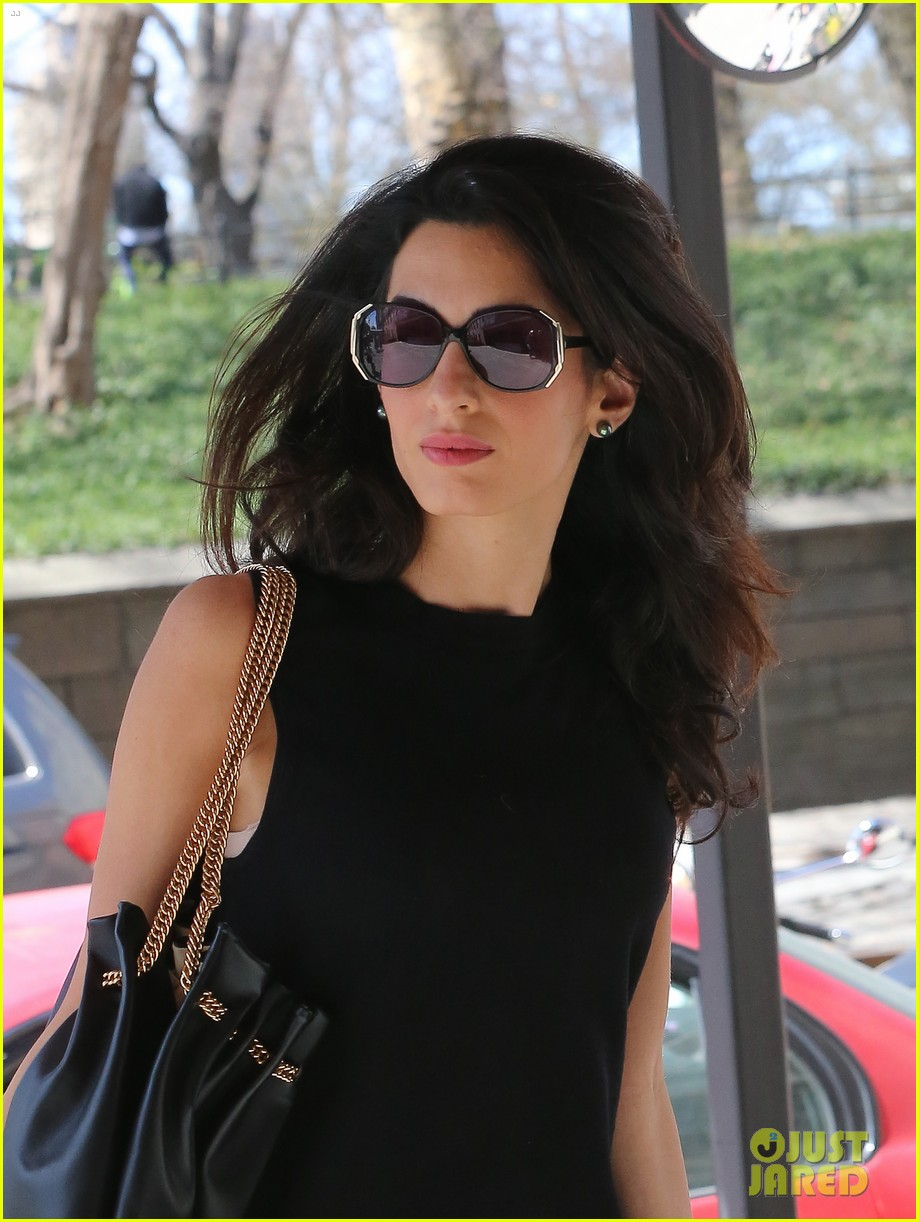 amal clooney warm nyc style 253349043
