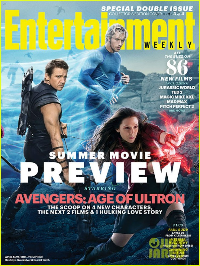 Avengers Cover Ew S Summer Movie Preview Magazine