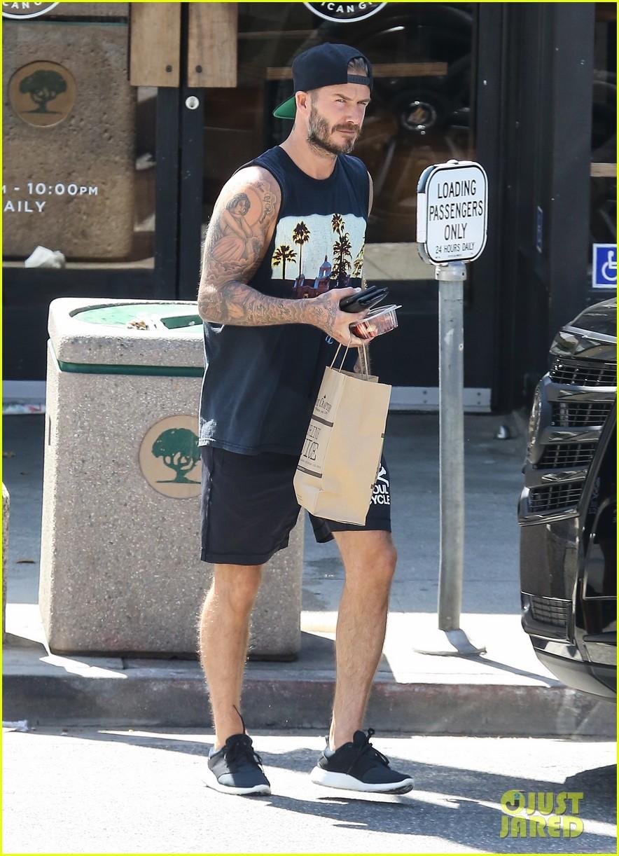 David Beckham Crashes ... David Beckham