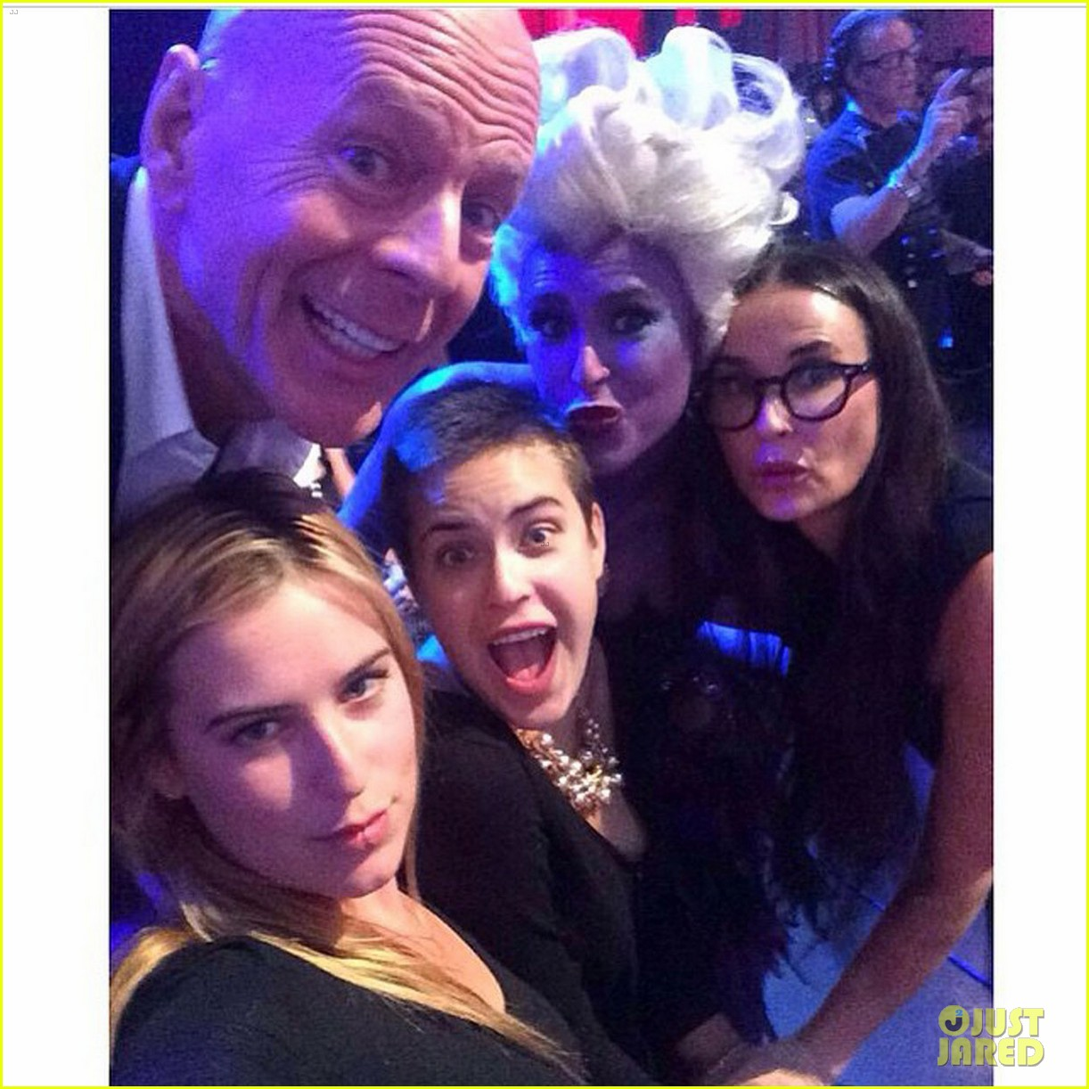 bruce willis demi moore rumer willis dwts 023347040