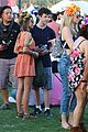 sarah hyland dominic cooper make out at coachella 10
