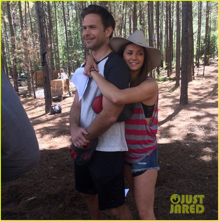 Michael trevino and nina dobrev dating 2018