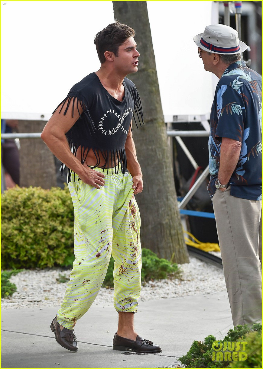 zac efron fringe crop top dirty grandpa 053356841