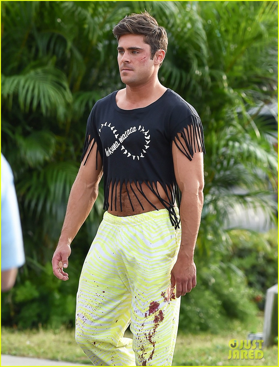 zac efron fringe crop top dirty grandpa 103356846
