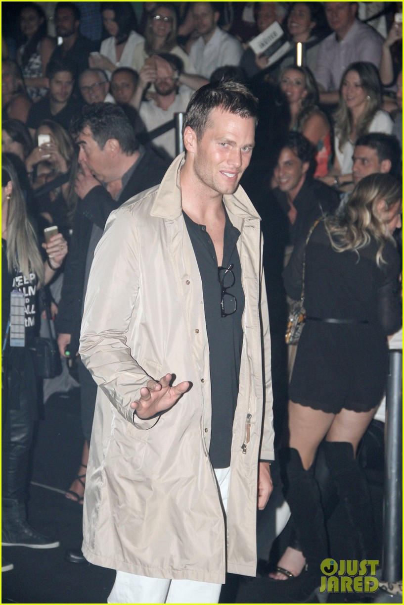 tom brady writes loving message for gisele bundchen after final runway 083348467