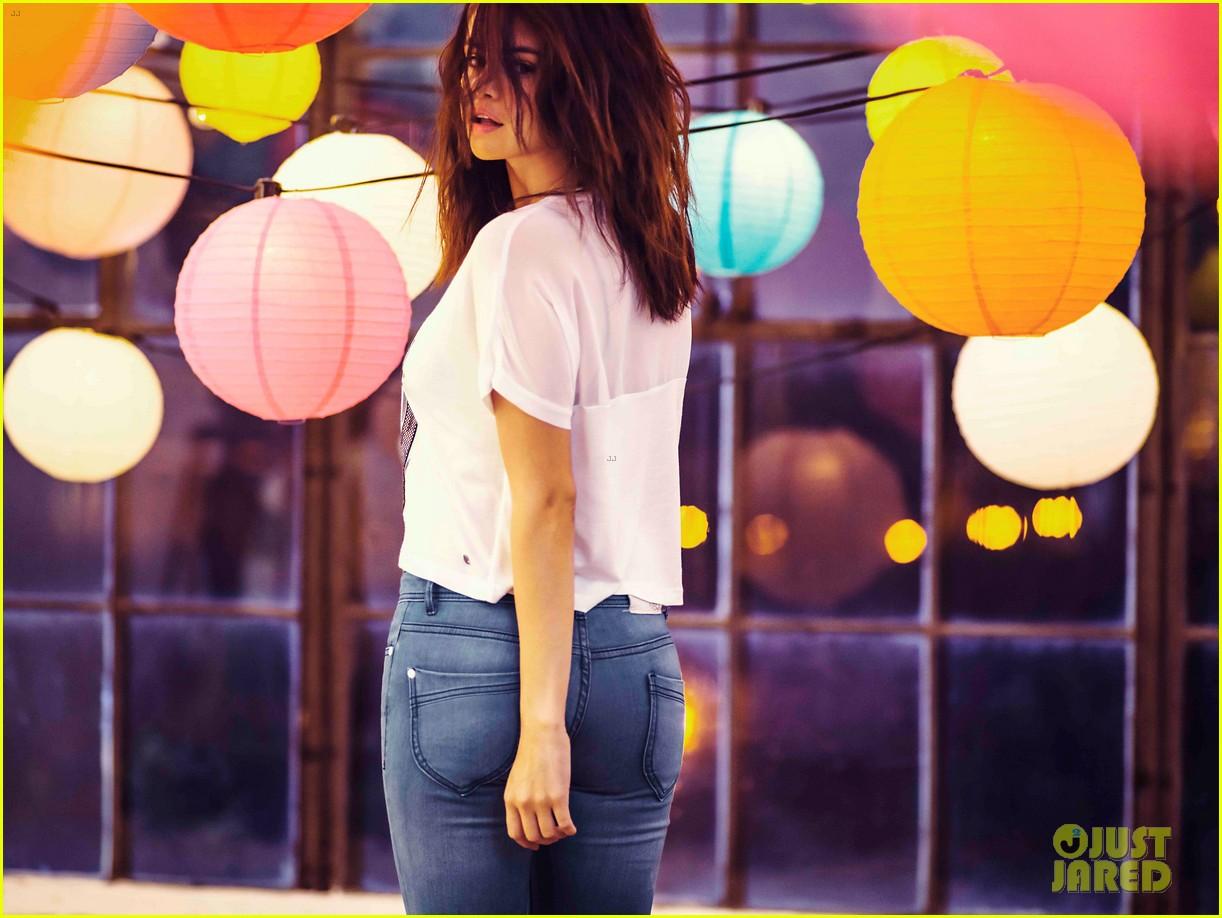 selena gomez bares midriff adidas neo campaign 083348756