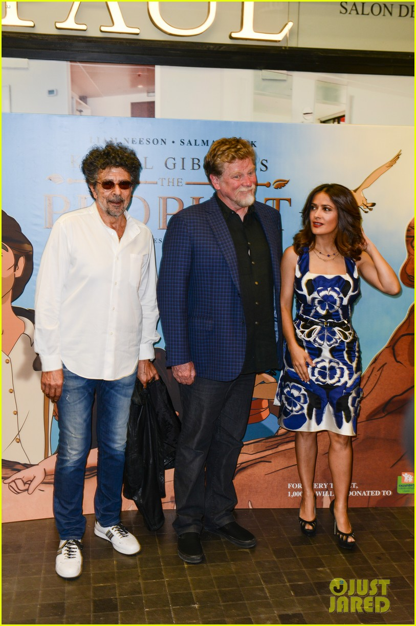 salma hayek debuts her first produced animated feature the prophet 053357149