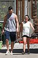 lea michele hikes with matthew after returning 03