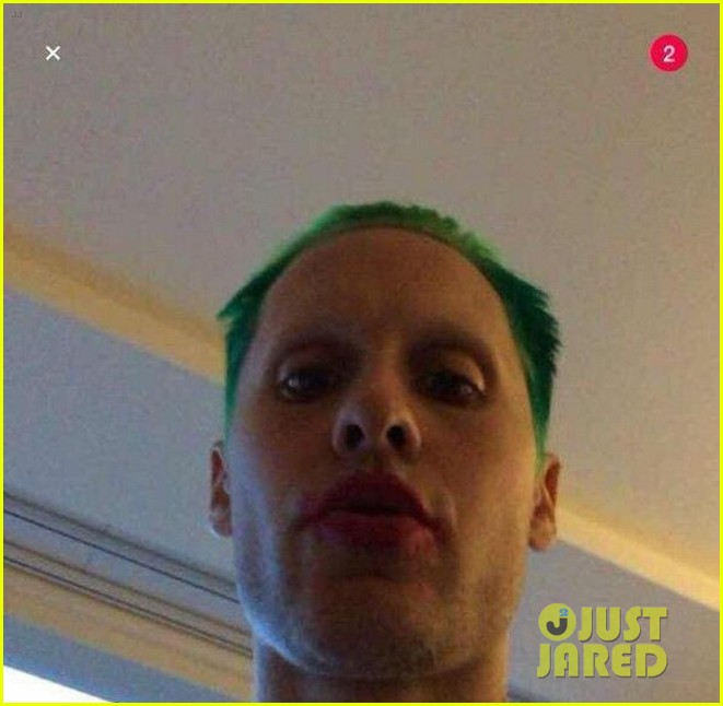 Jared Leto Reveals His Joker Look for 'Suicide Squad'!