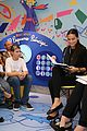 adriana lima opens new library at childrens hospital 05