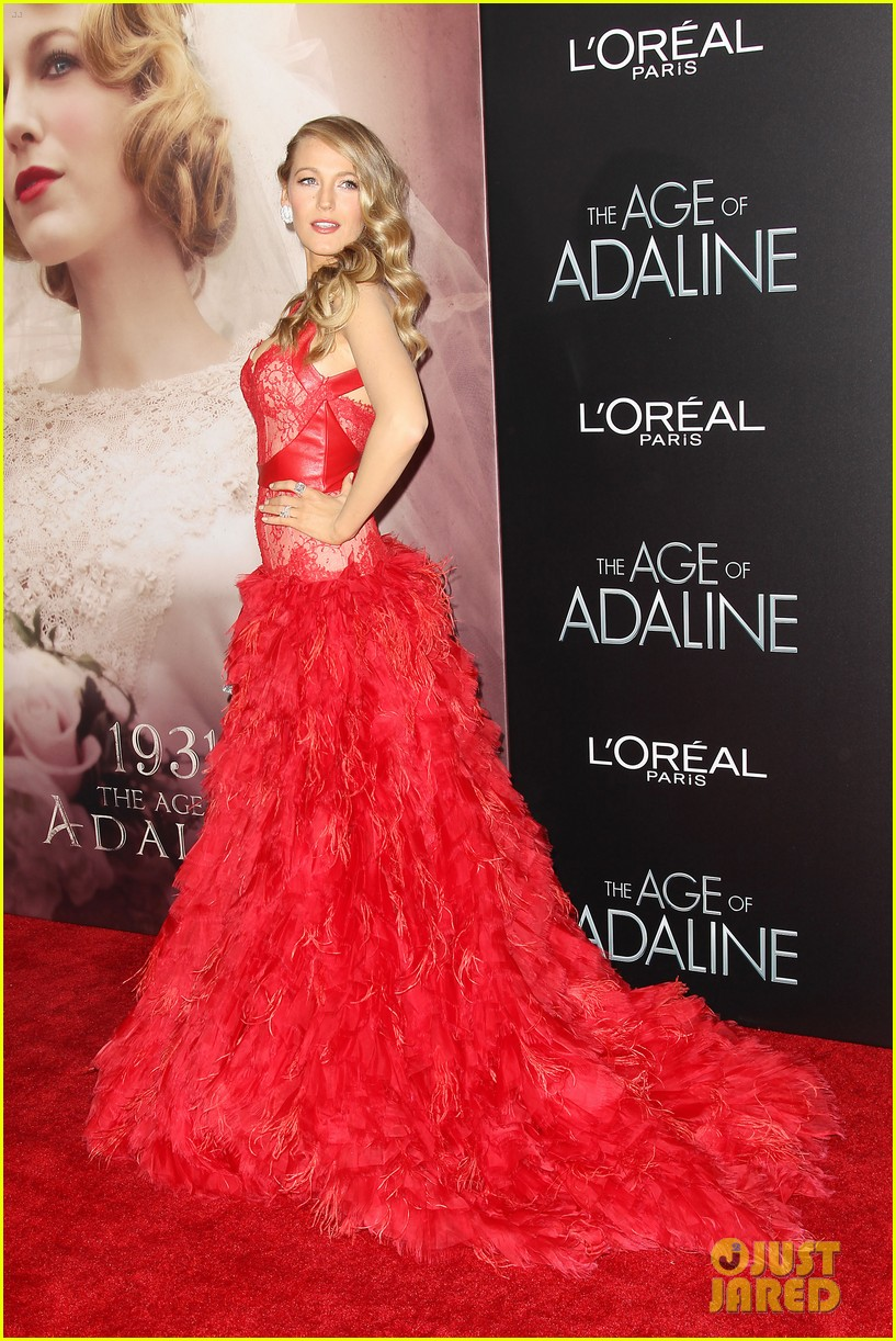 blake lively age of adaline premiere 33