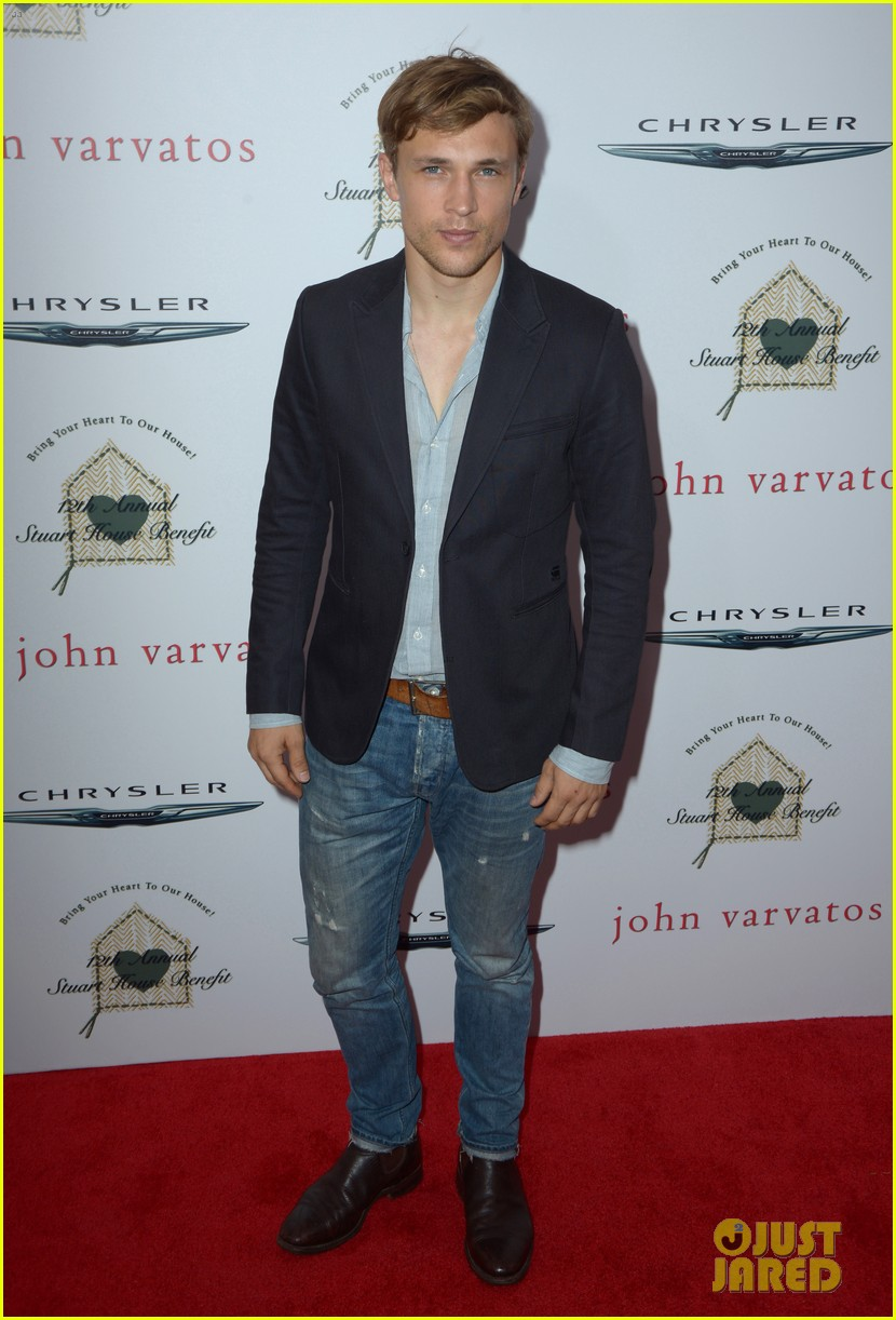 chris pine kate walsh more make it a star studded event at john varvatos 343356440