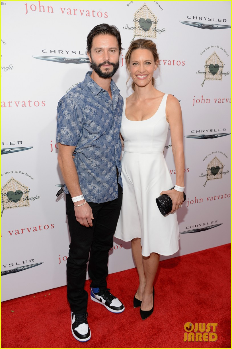 chris pine kate walsh more make it a star studded event at john varvatos 423356448