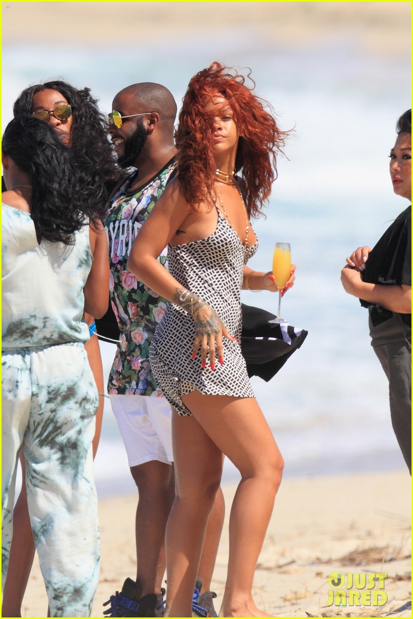 59fbe1e5889 Rihanna Models Her Sexy Beach Looks in Hawaii  Photo 3351447 ...