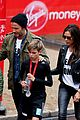 beckham family romeo london marathon 01