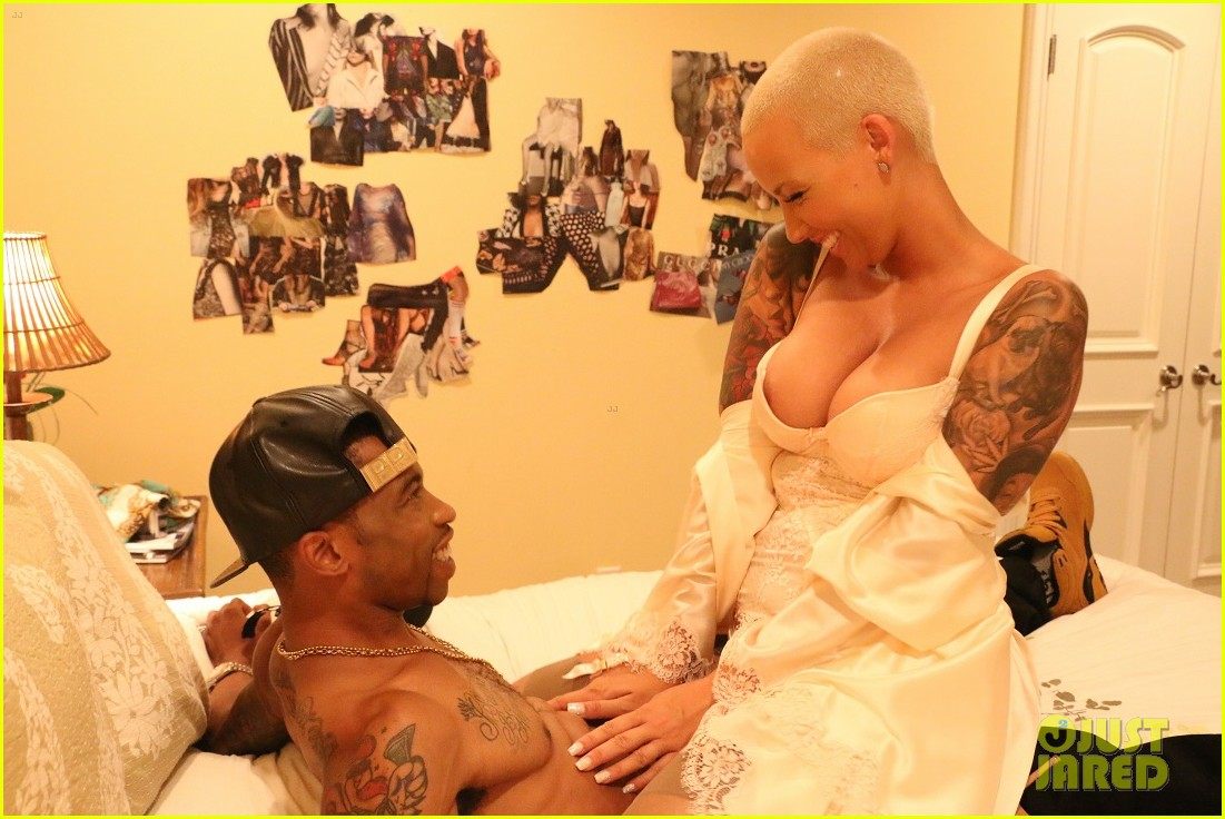 Amber Rose Gets Steamy For Sister Code Sex Scene Exclusive Photos