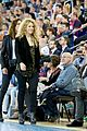 shakira gerard pique euroleague basketball playoff game 02