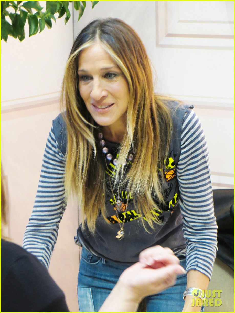 sarah jessica parker pop up shop vegas 013350599