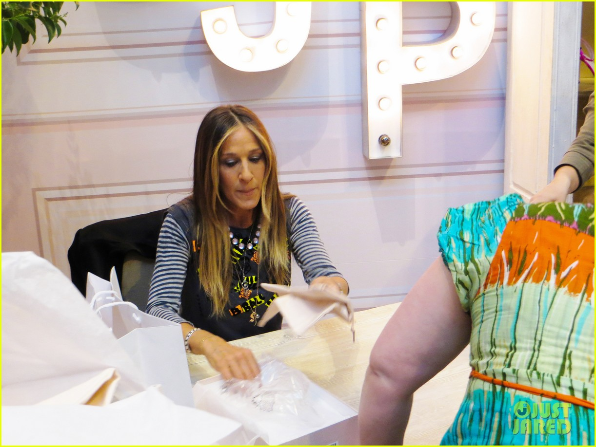 sarah jessica parker pop up shop vegas 033350601