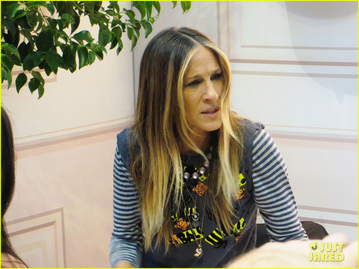 sarah jessica parker pop up shop vegas 103350608