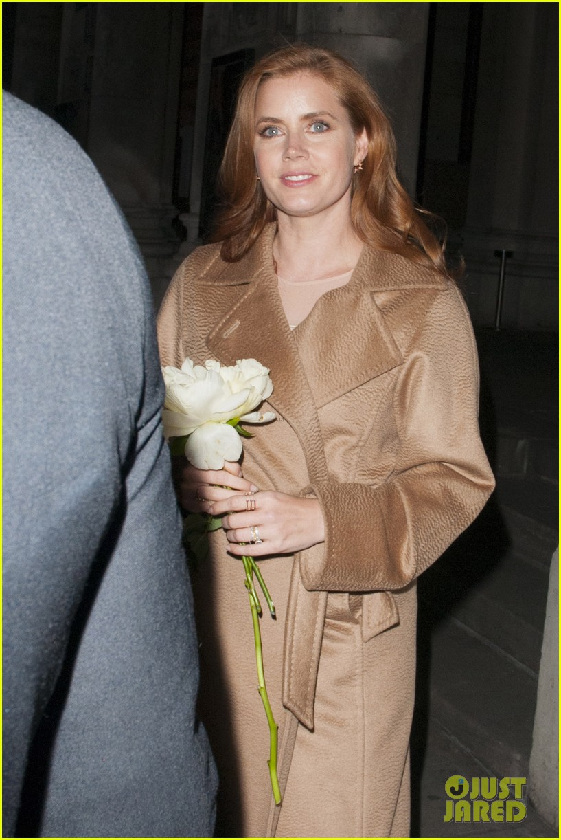 amy adams husband darren le gallo step out for first time after small wedding 063375060