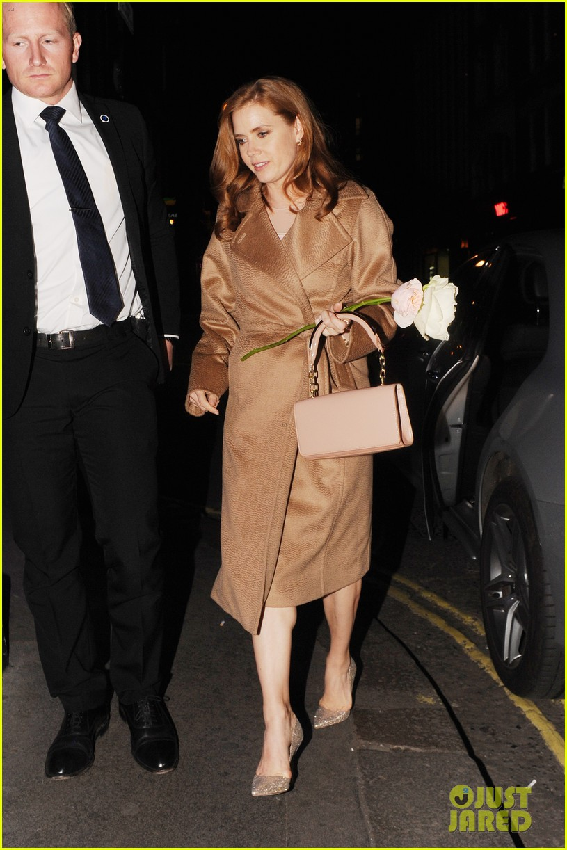 amy adams husband darren le gallo step out for first time after small wedding 083375062