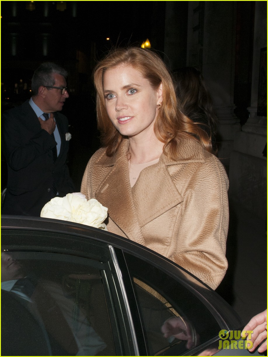 amy adams husband darren le gallo step out for first time after small wedding 093375063