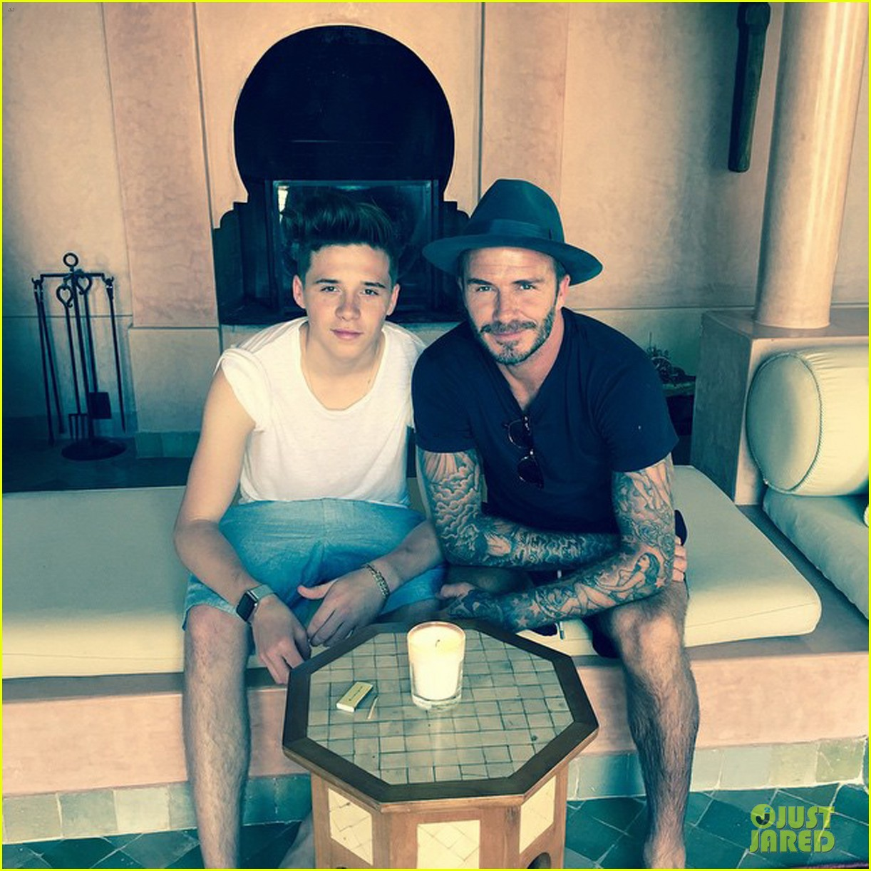 david beckham joins instagram see birthday pics 043360670