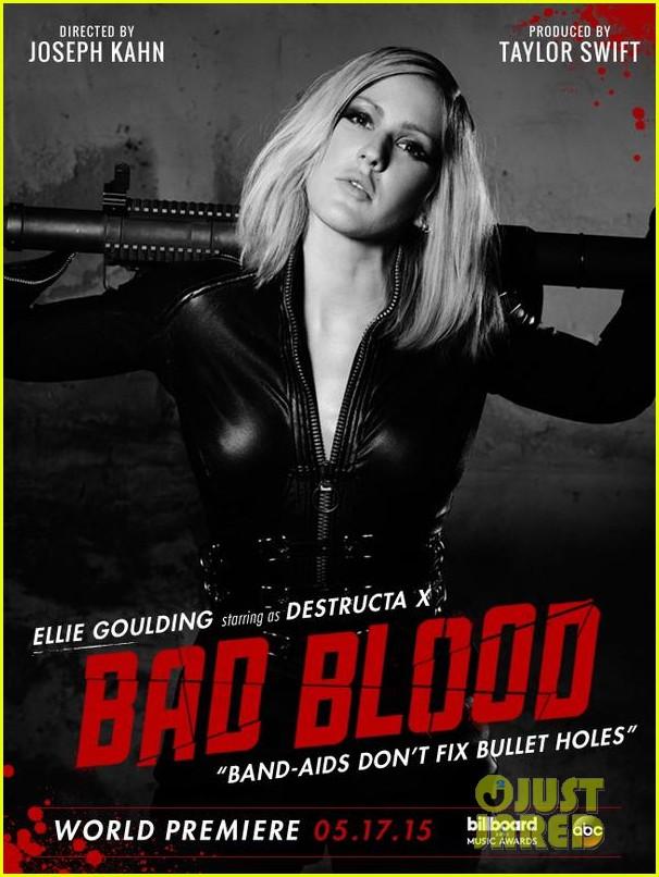 ellie goulding bad blood poster 013366459