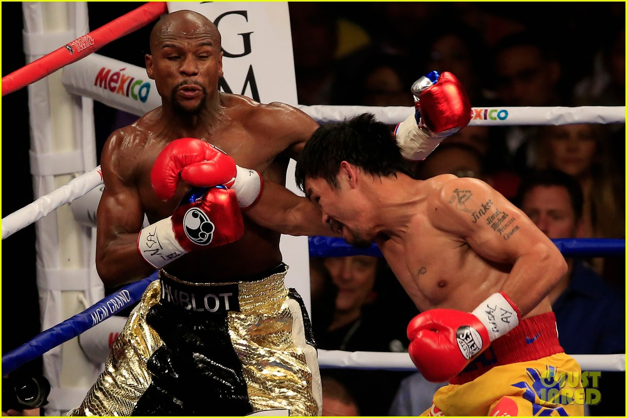 celebrities were not impressed by mayweather v pacquiao fight 303361141